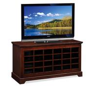 "Leick Riley Holliday Two-way Sliding Grid Door, 50""W TV Stand - Chocolate Oak at Sears.com"