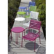 Garden Oasis Metal Stackable Side Table - Pink at Kmart.com