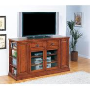 "Leick Riley Holliday Boulder Creek  62"" TV Stand/Tall - Medium Oak at Kmart.com"