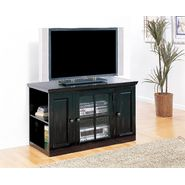 "Leick Riley Holliday Black Rub 42"" TV Stand with Storage at Kmart.com"