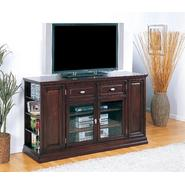 "Leick Riley Holliday Espresso 62"" TV Stand/Tall - Espresso at Kmart.com"