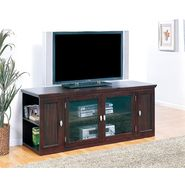 "Leick Riley Holliday 62"" TV  Stand with Storage - Espresso at Kmart.com"