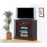 "Leick Riley Holliday 46"" Corner TV Stand/Tall - Espresso at Kmart.com"