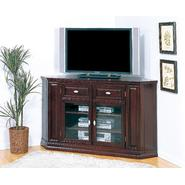 "Leick Riley Holliday 62"" Corner TV Stand/Tall - Espresso at Kmart.com"