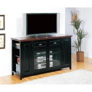 "Leick Riley Holliday 62"" TV Stand/Tall - Black and Cherry Finish at Kmart.com"