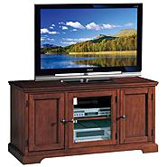 "Leick Riley Holliday Westwood 50"" TV Stand with Storage- Brown Cherry at Sears.com"