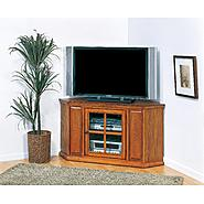 "Leick Riley Holliday Mission 46"" Corner TV Stand - Mission Oak at Kmart.com"