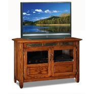 "Leick Riley Holliday  46"" TV Stand/Tall - Distressed Rustic Oak Finish at Kmart.com"