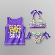 Joe Boxer Girl's Bikini & Tank Top - Hearts at Kmart.com