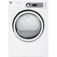 GE 7.0 cu.ft. Steam Electric Dryer - White at Kmart.com