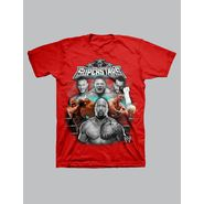 WWE Boy's T-shirt Graphic WWE Superstars Free For All Short Sleeve - Red at Kmart.com