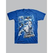 WWE Boy's T-shirt Graphic WWE Superstars Cena Lightning Short Sleeve – Blue at Kmart.com