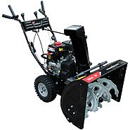 Power Smart 7651A 26-Inch 208CC LCT Gas Powered Two Stage Snow Thrower With Electric Start at Kmart.com