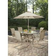 Jaclyn Smith Today Stegner Aluminum Dining Table at Kmart.com