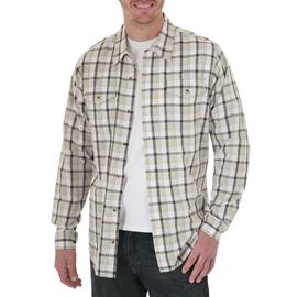 Wrangler Men's Shirt Button Front Plaid at Kmart.com