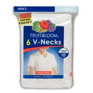 Fruit of the Loom Men's T-shirts V-neck Label Free Short Sleeve at Kmart.com