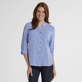 Covington Women's Mandarin Collar Blouse at Sears.com