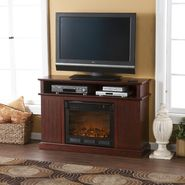 Southern Enterprises Kingsbury Media Cherry Fireplace at Kmart.com