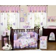 Sweet Jojo Designs Butterfly Pink and Purple Collection 9pc Crib Bedding Set at Kmart.com