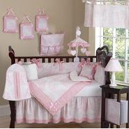 Sweet Jojo Designs Pink Toile Collection 9pc Crib Bedding Set at Kmart.com