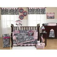 Sweet Jojo Designs Zebra Pink Collection 9pc Crib Bedding Set at Kmart.com