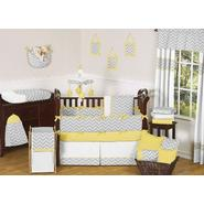 Sweet Jojo Designs Zig Zag Yellow and Gray Collection 9pc Crib Bedding Set at Kmart.com