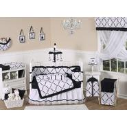 Sweet Jojo Designs Princess Black and White Collection 9pc Crib Bedding Set at Kmart.com