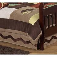 Sweet Jojo Designs Dinosaur Land Collection Toddler Bed Skirt at Kmart.com