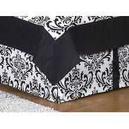 Sweet Jojo Designs Isabella Black and White Collection Queen Bed Skirt at Kmart.com