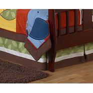 Sweet Jojo Designs Jungle Time Collection Toddler Bed Skirt at Kmart.com