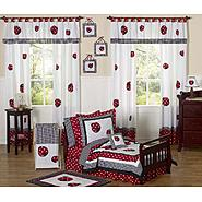 Sweet Jojo Designs Little Ladybug Collection 5pc Toddler Bedding Set at Kmart.com