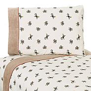 Sweet Jojo Designs Monkey Collection Queen Sheet Set at Kmart.com
