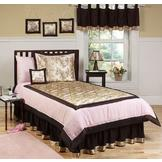 Sweet Jojo Designs Abby Rose Collection 3pc Full/Queen Bedding Set at mygofer.com