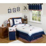 Sweet Jojo Designs Vintage Aviator Collection 3pc Full/Queen Bedding Set at mygofer.com