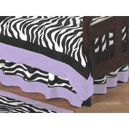 Sweet Jojo Designs Zebra Purple Collection Toddler Bed Skirt at Kmart.com
