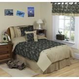 Sweet Jojo Designs Camo Green Collection 3pc Full/Queen Bedding Set at mygofer.com