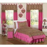 Sweet Jojo Designs Cheetah Pink Collection 3pc Full/Queen Bedding Set at mygofer.com