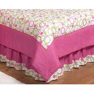 Sweet Jojo Designs Circles Pink Collection Queen Bed Skirt at Kmart.com