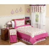 Sweet Jojo Designs Circles Pink Collection 3pc Full/Queen Bedding Set at mygofer.com