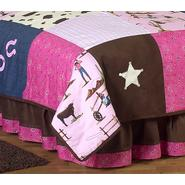 Sweet Jojo Designs Cowgirl Collection Queen Bed Skirt at Kmart.com