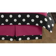 Sweet Jojo Designs Hot Dot Collection Queen Bed Skirt at Kmart.com