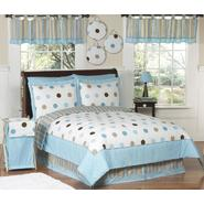 Sweet Jojo Designs Mod Dots Blue Collection 3pc Full/Queen Bedding Set at Kmart.com