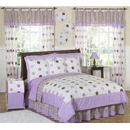 Sweet Jojo Designs Mod Dots Purple Collection 3pc Full/Queen Bedding Set at Kmart.com
