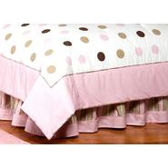 Sweet Jojo Designs Mod Dots Pink Collection Queen Bed Skirt at Kmart.com