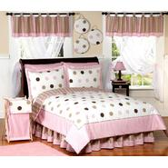 Sweet Jojo Designs Mod Dots Pink Collection 3pc Full/Queen Bedding Set at Kmart.com