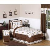 Sweet Jojo Designs Owl Collection 3pc Full/Queen Bedding Set at mygofer.com
