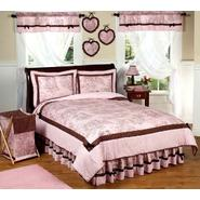 Sweet Jojo Designs Pink and Brown Toile Collection 3pc Full/Queen Bedding Set at Sears.com