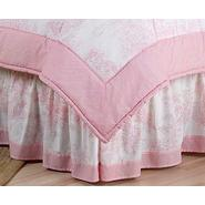 Sweet Jojo Designs Pink Toile Collection Queen Bed Skirt at Kmart.com