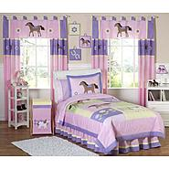 Sweet Jojo Designs Pony Collection 3pc Full/Queen Bedding Set at Kmart.com