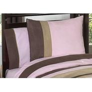 Sweet Jojo Designs Soho Pink and Brown Collection Standard Pillow Sham at Kmart.com
